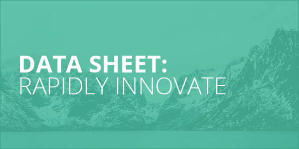 Data Sheet_Rapidly Innovate