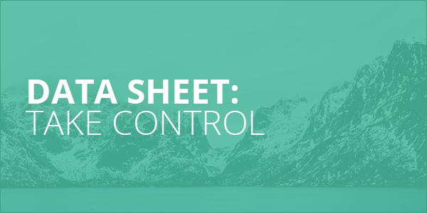 Data Sheet_Take Control
